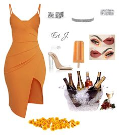 """""""Apricot."""" by gorgeoussbella ❤ liked on Polyvore featuring adidas, Pretty Little Thing, Prodyne and Bling Jewelry"""