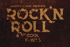 Rock'n Roll Bold Font – Deeezy – Freebies with Extended License