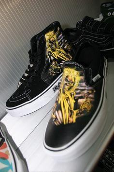 Iron Maiden Vans