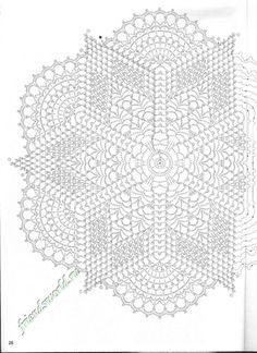 free crochet doily patterns charts – Knitting Tips Free Crochet Doily Patterns, Crochet Doily Diagram, Crochet Motifs, Thread Crochet, Filet Crochet, Crochet Dollies, Crochet Stars, Crochet Circles, Crochet Tablecloth