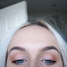 Peaches  #eyeshadow #peach #makeup #girl #kyliejenner #colours