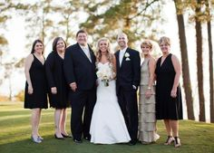 Steve and me with our four children and daughter-in-law Jess