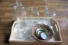 Peaceful Parenting: Jars and Lids Activity
