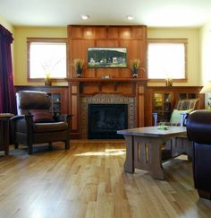Fireplace on pinterest for Furniture burlington wa