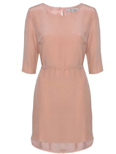 Theo and George - Elsie Dress - Silver Pink Silver Dress, Designer Collection, Cold Shoulder Dress, Boutique, Pink, Stuff To Buy, Clothes, Beautiful, Dresses