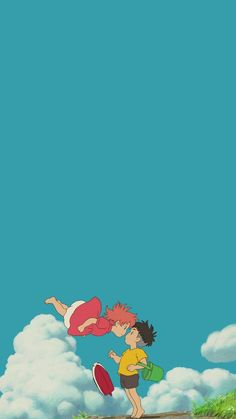 Best Ideas For Anime Wallpaper Iphone Backgrounds Studio Ghibli Studio Ghibli Art, Studio Ghibli Movies, Cute Cartoon Wallpapers, Animes Wallpapers, Kawaii Wallpaper, Iphone Wallpaper, Iphone Backgrounds, Anime Kunst, Anime Art