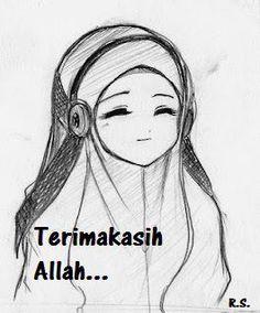 Happy nice muslim girl