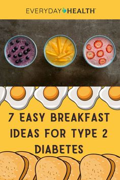 Eating a healthy breakfast can help you keep your blood sugar under control.