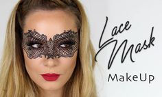 Lace Mask MakeUp Tutorial | Halloween Fancy Dress Masquerade | SnapChat ...
