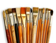 Soak your paint brushes in fabric softener or hair conditioner for 10 min…cleans right off!