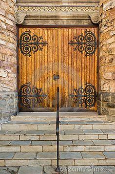 Closed Church Doors by Howardgrill, via Dreamstime