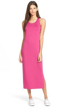 whatgoesgoodwith.com hot pink flowy dress (15) #cuteoutfits