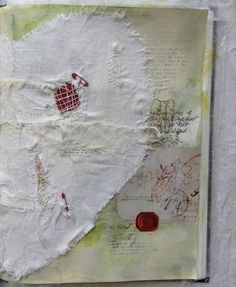 Left side of Art Journal page, Caterina Giglio