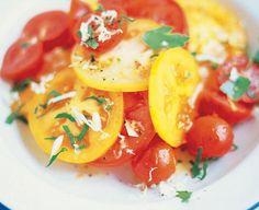 Salată+de+roşii+cu+hrean