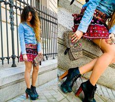 na moda 2013 etnico moda tribal