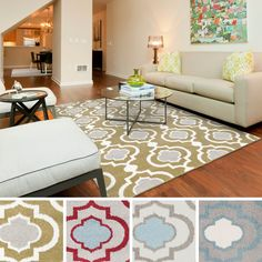 Bring luxury to your home with this modern designed area rug. Crafted from durable materials in shades of green, red, blue, grey . This rug is sure to be the perfect addition to any decor.