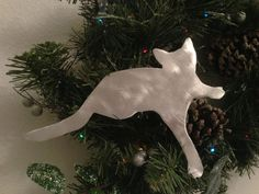 Kitty Kitty, Cat Angel Christmas Tree Topper, Holiday Decoration ...