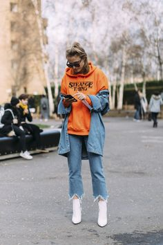 London Fashion Week Fall 2017 Street Style Day 3 - The Impression