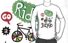 Go Ride a Bike   by Andi Bird #WorldofGood #Earthbrands #Ad