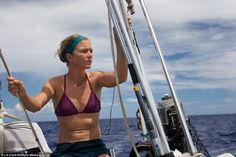 Liz Clark spends 10 YEARS sailing the world after generous benefactor gave her a yacht Sailboat Living, Living On A Boat, Sailing Catamaran, Sailing Ships, Sail World, Travel News, Travel Hacks, Travel Guides, Packing List For Travel