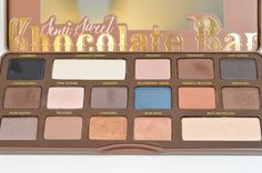 A review of the new TooFaced semi sweet chocolate bar palette!