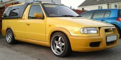 Modified Skoda Felicia Fun. Wolves, Vehicles, Pickup Trucks, Cars, Wolf, Vehicle