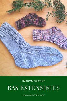 Extensibles Socks pattern by Maude L. Baby Knitting Patterns, Crochet Patterns, Knitting Socks, Free Crochet, Free Pattern, Pin Terest, Owl Hat, Knitting Patterns, Socks