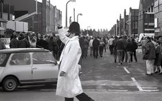 As we approach the first 2014 Manchester Derby between Manchester United and Manchester City, we thought we would upload some images of previous game from the archives of our Force Museum.  The 1981 games both took place at Manchester City's Maine Road. The first match took place on the 21st of February and a Greater Manchester Police photographer went along to record the event for the Force's newspaper Brief.  The year marked the 100th anniversary of the first time the two sides met. The…
