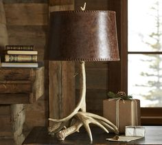 Fabulous new lamp for fall from PB
