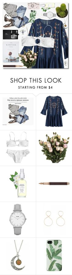 """GIRL POWER: Power Look"" by fshionme ❤ liked on Polyvore featuring Caran d'Ache and CLUSE"