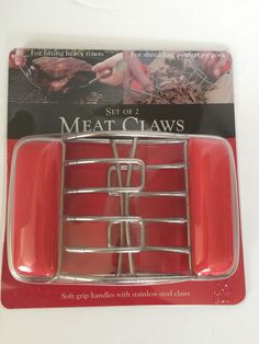 Charcoal Champion Meat Kitchen Claws For Chef Griller Heavy Meat Stainless Steel #CharcoalChampion