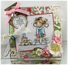 Sylvia Zet: 12 Days of Christmas at Whimsy Stamps