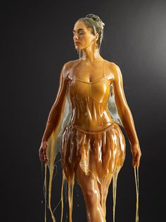 Blake Little's incredible sculptural photographs involve a lot of bravery, and gallons of honey... http://www.we-heart.com/2015/02/25/blake-little-preservation/