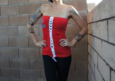 Olivia Paige Pin Up Bow Sailor anchor by OliviaPaigeClothing    I love this