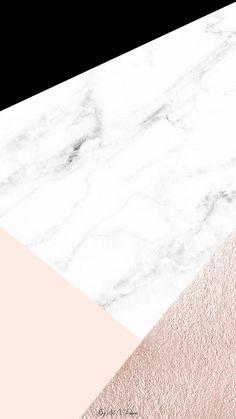 Geometric marble create it em 2019 wallpaper, iphone wallpap Marble Iphone Wallpaper, Rose Gold Wallpaper, Phone Screen Wallpaper, Iphone Background Wallpaper, Tumblr Wallpaper, Textured Wallpaper, Marble Wallpapers, Rose Gold Backgrounds, Cream Wallpaper