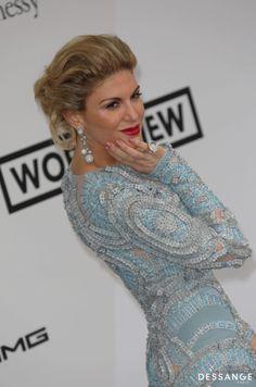 Hofit Golan Soirée AmfAR (Photo YAN MAISANI) #Cannes2014 #DESSANGE Star Francaise, Palais Des Festivals, Formal, Style, Fashion, Cannes Film Festival, Dancing With The Stars, Hairstyle, Preppy