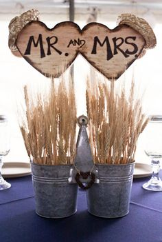 country wedding idea very cute idea and so snazzy