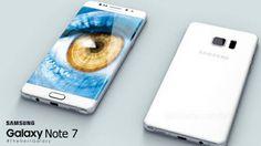 Samsung presentó la Galaxy Note 7, un teléfono inteligente que se puede desbloquear tan solo con la mirada.
