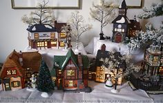 Christmas Village Ideas | up their village as i noticed a few search results for dickens village ...