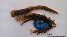 quilled eye:by chinesequillingcreations