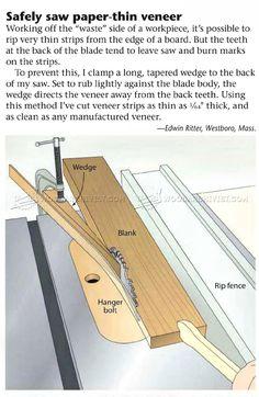 Идея для отрезания тонких кусков