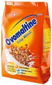 Ovomaltine Crips Muesli - Swiss Grocery Online - Swiss Food Store