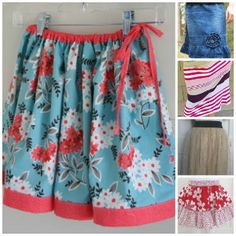 35 Free Skirt Sewing Patterns
