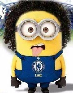 David Luiz's Minion