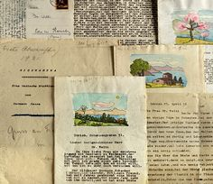Documents from the collection Welti- foundation of Hermann Hesse archive....♔..