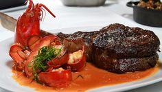 American Cut - Surf & Turf Chili Lobster and Tomahawk Chop #goodeating #wealthy #lifestyle