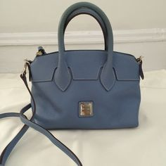 """Pre-owned Dooney & Bourke crossbody bag 100% Authentic. Comes with dust bag. Dimension W 12"""" x H 8"""" Dooney & Bourke Bags Crossbody Bags"""