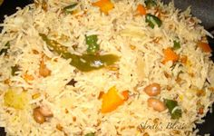 Sprouted methi n veg pulao