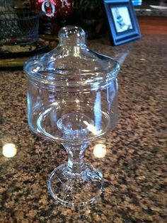 Dixie of all Trades: Dollar store apothecary jar
