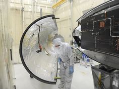 NASA - Preparing NASA's Next Solar Satellite for Launch Scheduled for launch from Vandenberg on June 26, 2013, IRIS will open a new window of discovery by tracing the flow of energy and plasma through the chromospheres and transition region into the sun's corona using spectrometry and imaging. -